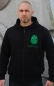 Preview: Aeons Confer Zip Hoodie Green Logo Front/Backprint
